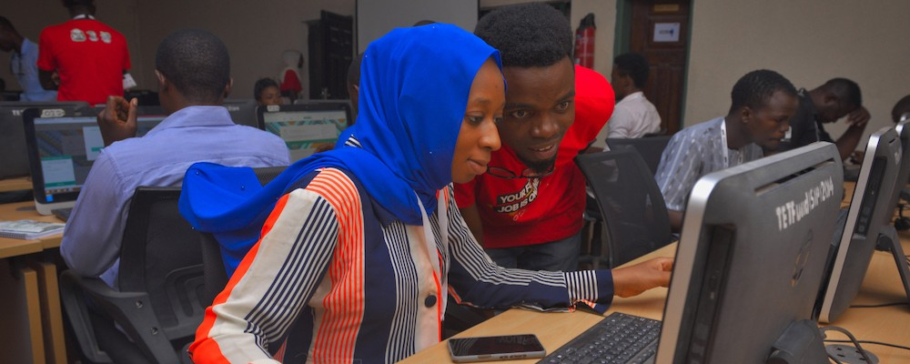 Preparing thousands of Northern Nigerian youth for the future of work. (Click on Kaduna)